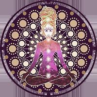Femme en lotus